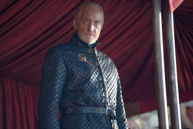 Charles Dance as Tywin Lannister in HBO's  Game of Thrones.