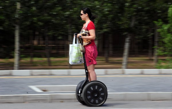 Segway: Ninebot Acquires Segway to Overcome 'Copycat China