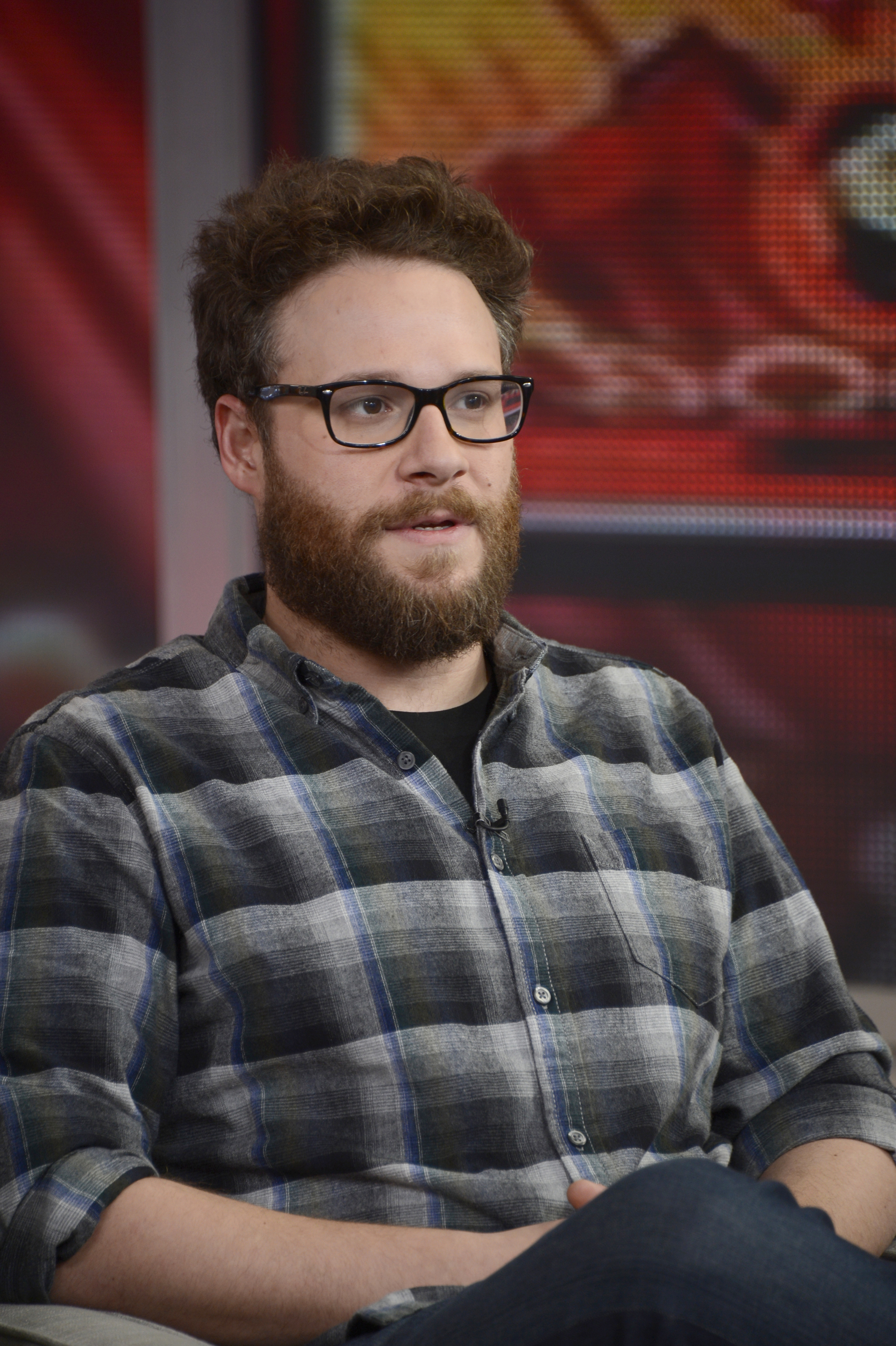 Seth Rogen appears on Good Morning America, Dec. 16, 2014.