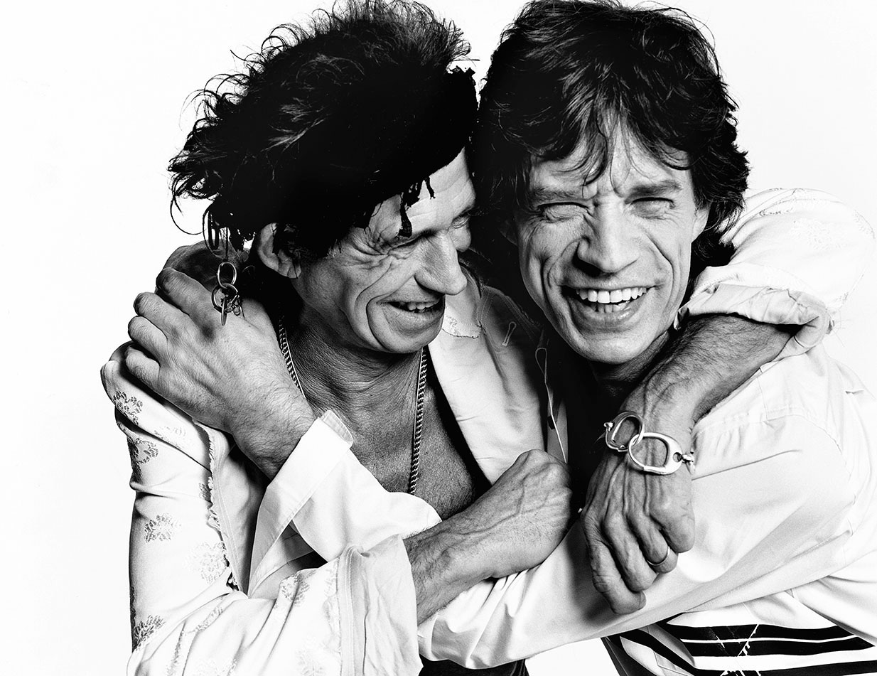 Keith Richards & Mick Jagger, Los Angeles, British Vogue, 2003.