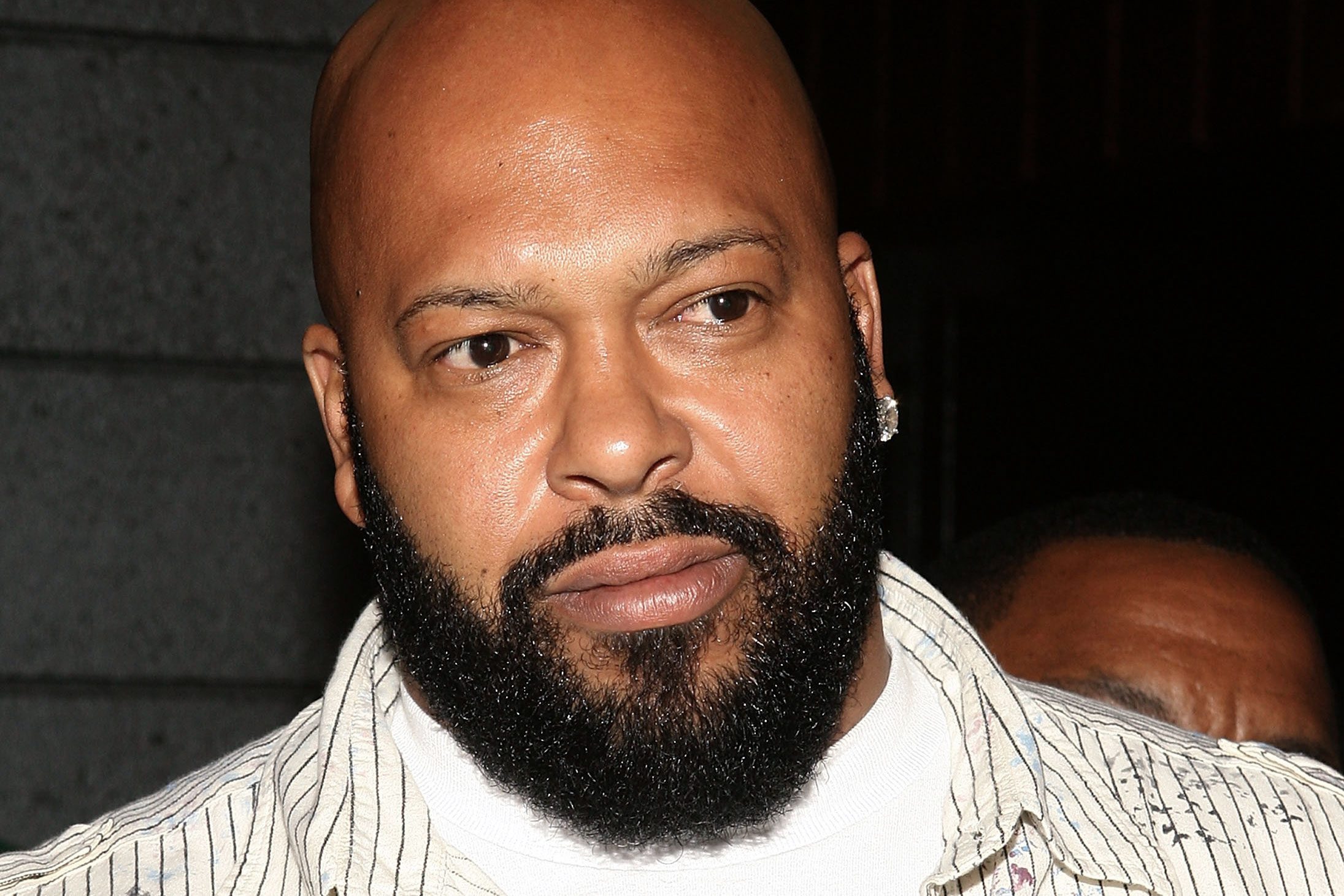 Suge Knight arrives at the NFL Draft Inauguration Party hosted by Desean Jackson and Fred Davis at Sugar nightclub on April 29, 2008 in Hollywood.