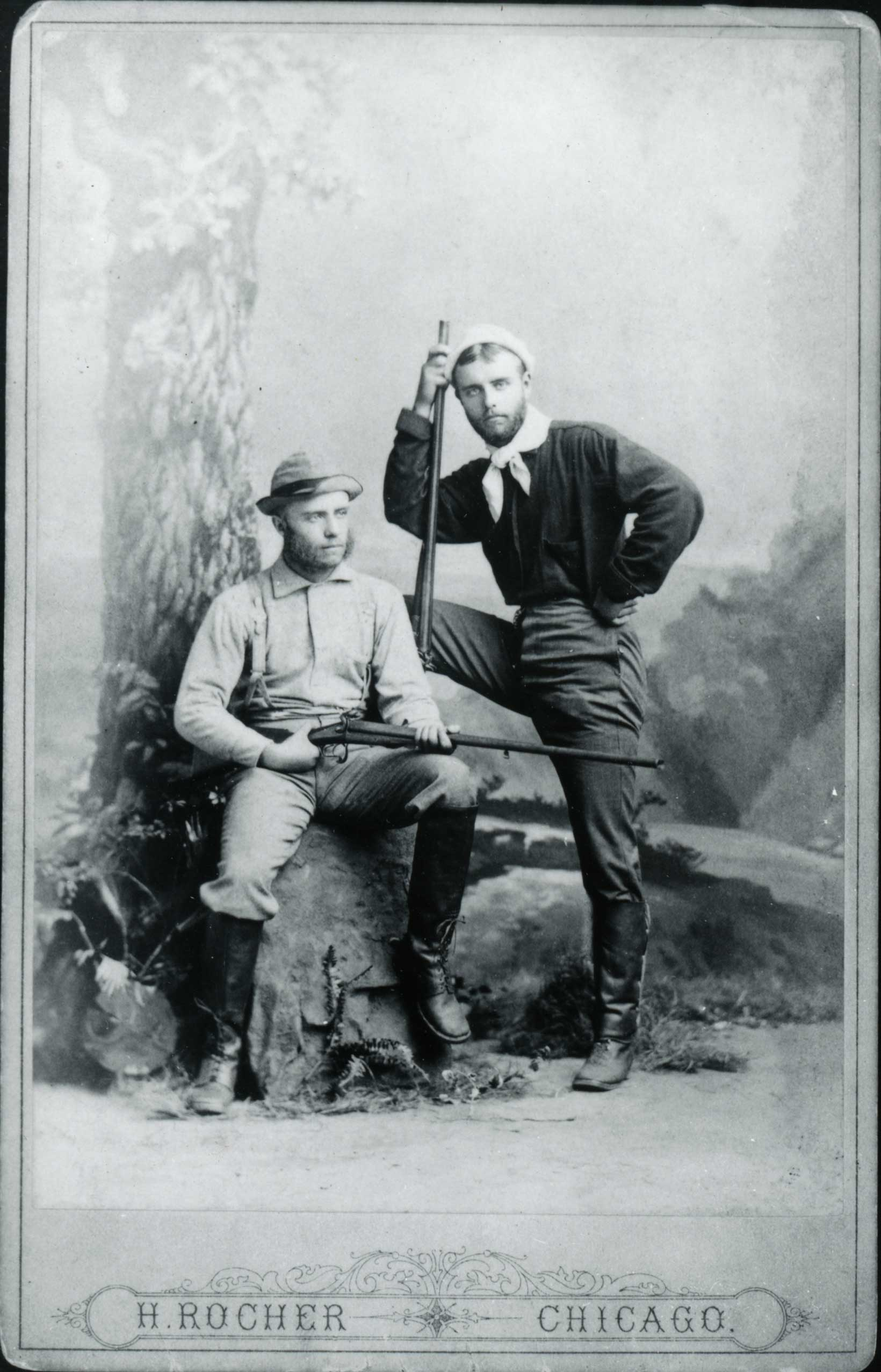 THE ROOSEVELTS: The younger Elliott (right), a melancholy drug addict, died of alcoholism seven years before his brother Theodore became president.