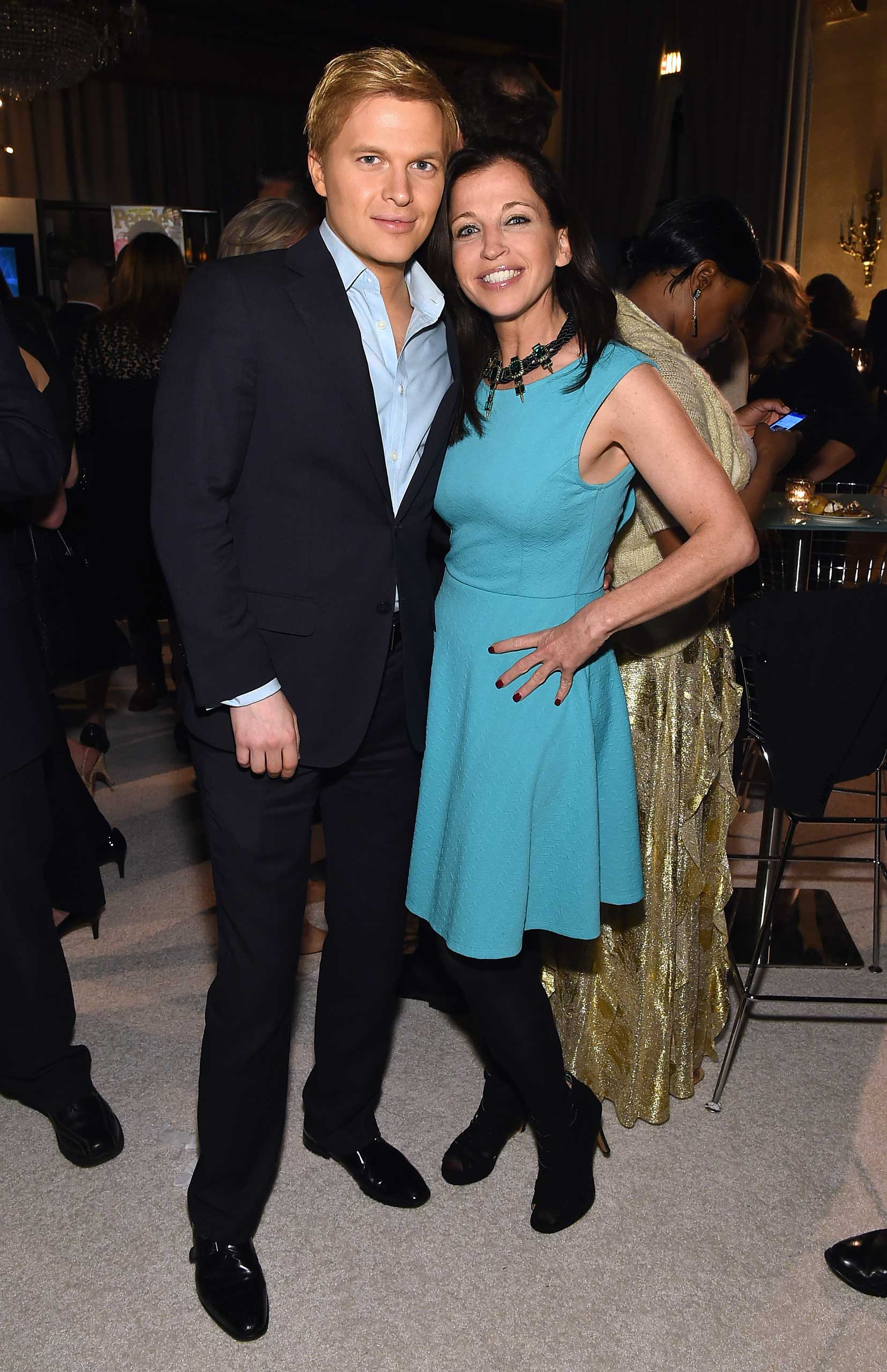 MSNBC's Ronan Farrow and author and reality TV personality Wendy Diamond