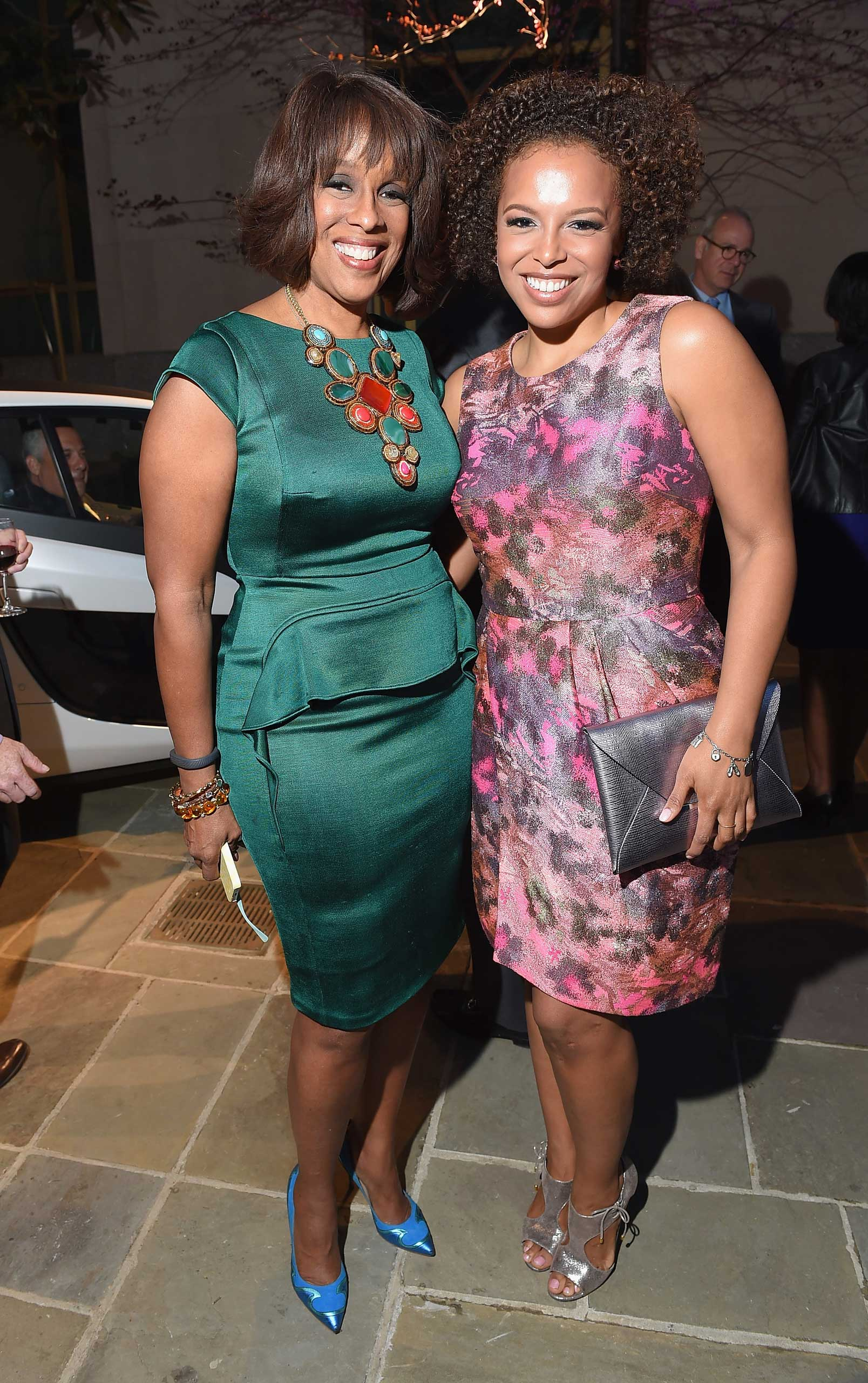 CBS's Gayle King and her daughter, Kirby Bumpus