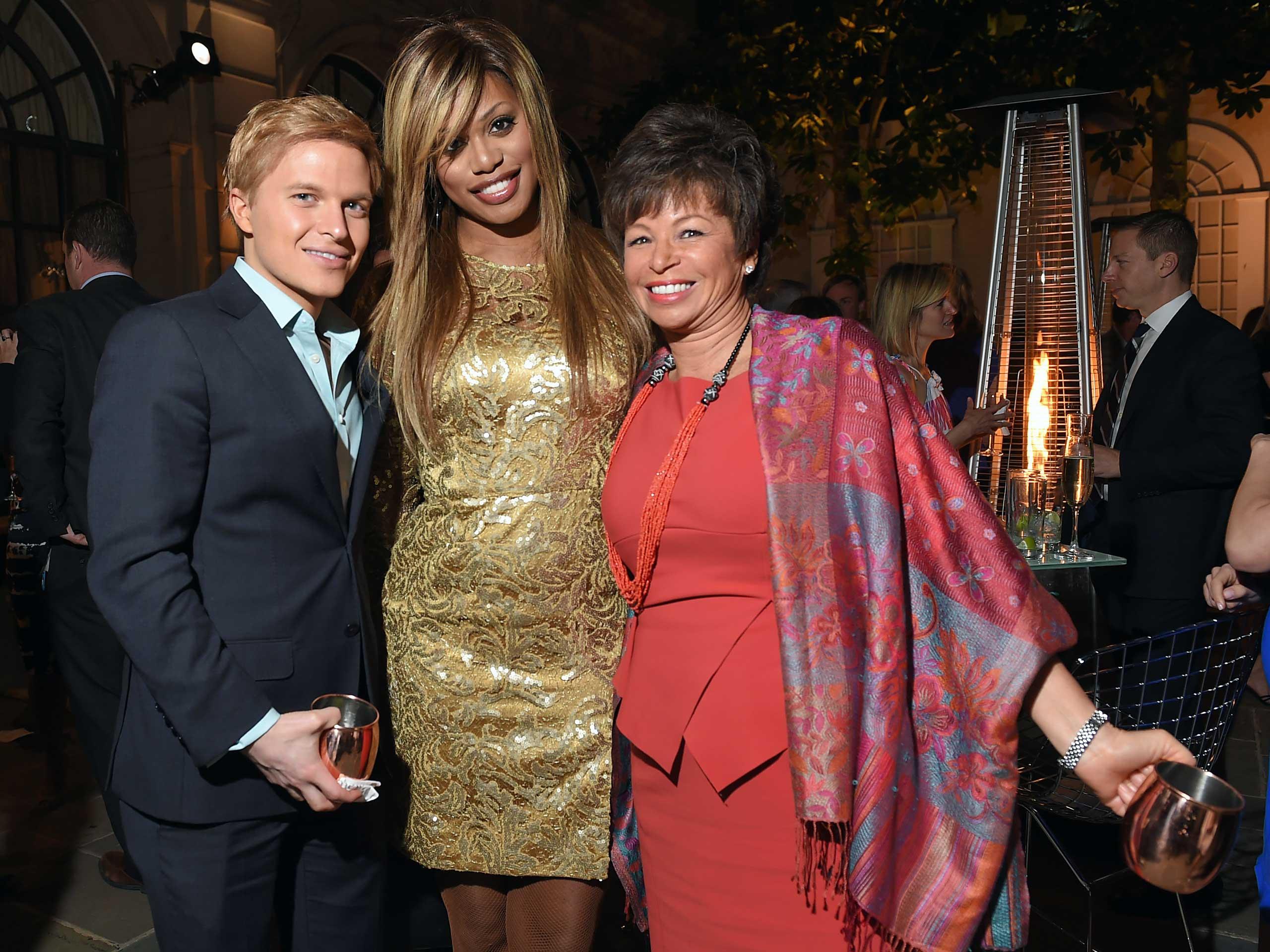 MSNBC's Ronan Farrow, Actress Laverne Cox and Senior Advisor to President Obama, Valerie Jarrett