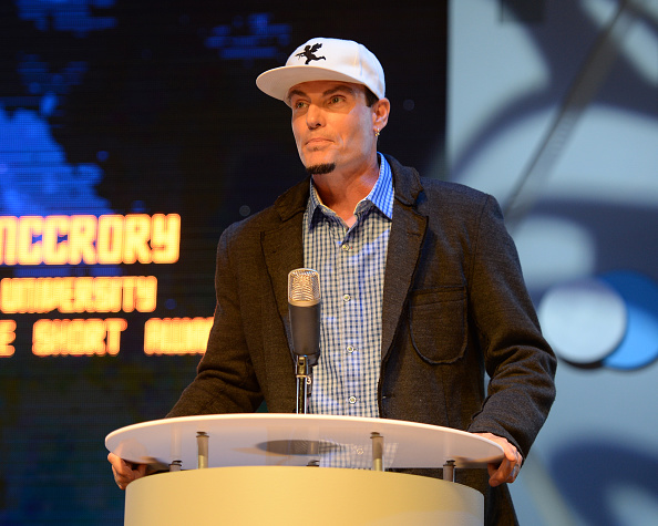 Vanilla Ice at the Student Filmmakers showcase on March 12, 2015 in Boca Raton, Florida.