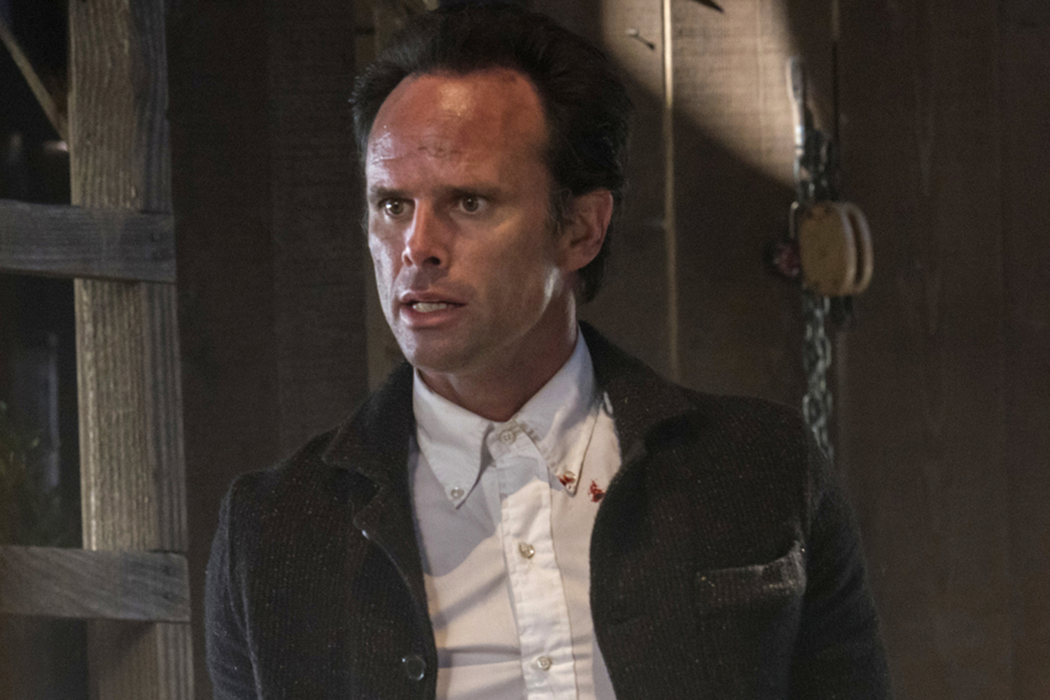 Walton Goggins as Boyd Crowder in the series finale of 'Justified.'