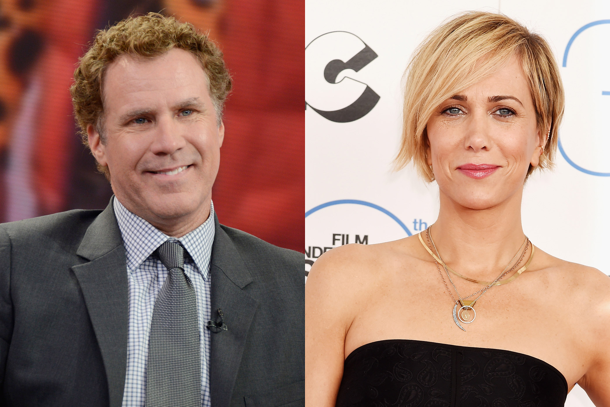 From left: Will Ferrell and Kristen Wiig