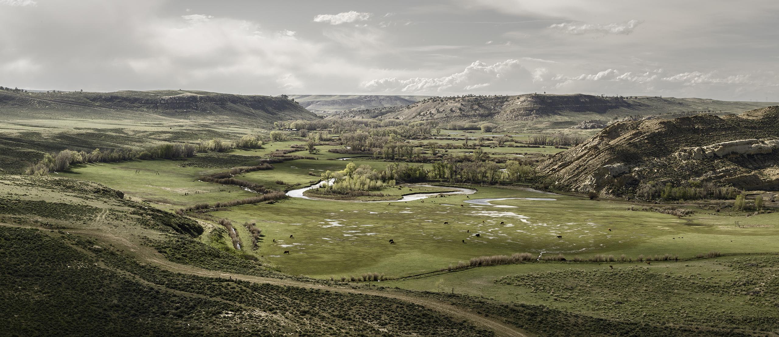 Johnson Ranch, Carbon County, May 22, 2013