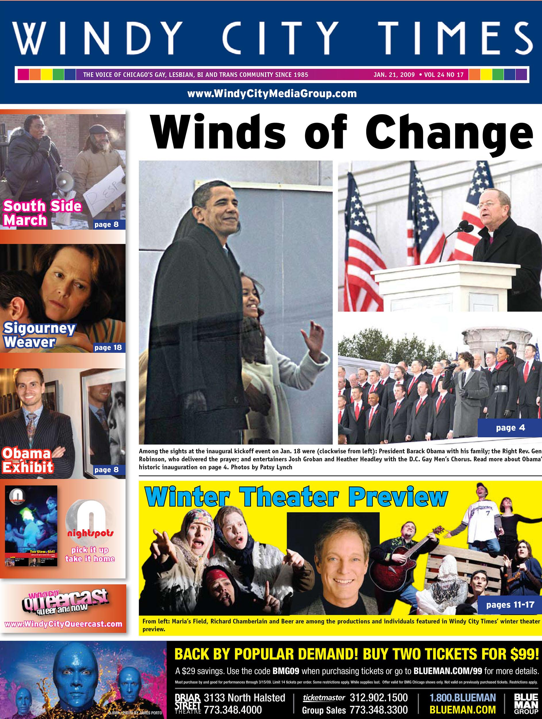 Barack Obama Windy City Times
