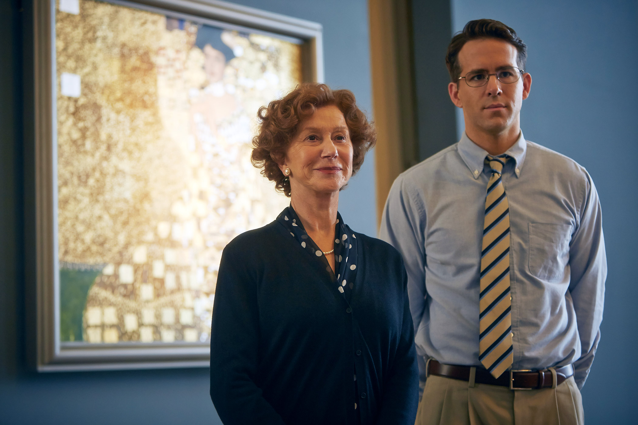 Helen Mirren and Ryan Reynolds star in Woman in Gold
