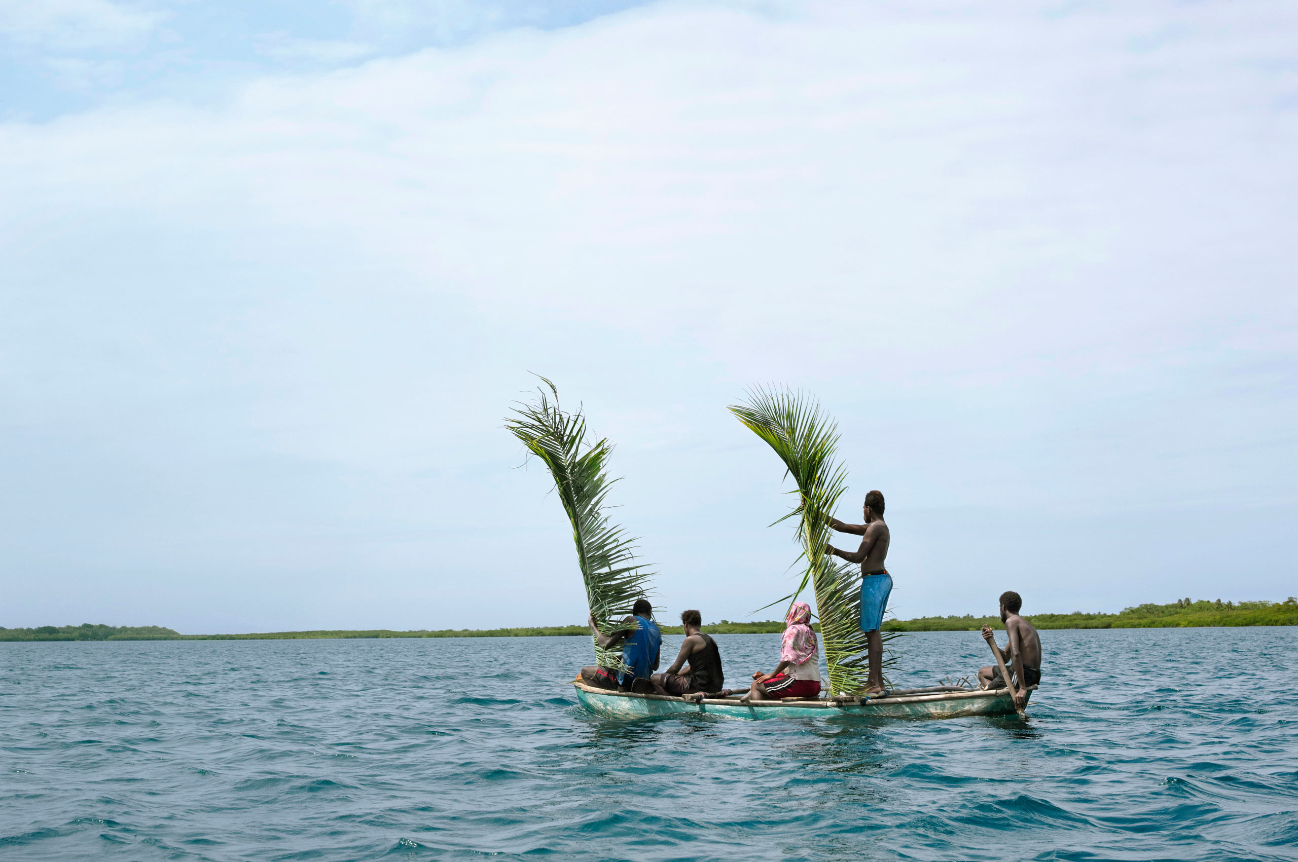 Off the shore of Malekula. Vanuatu, 2014.