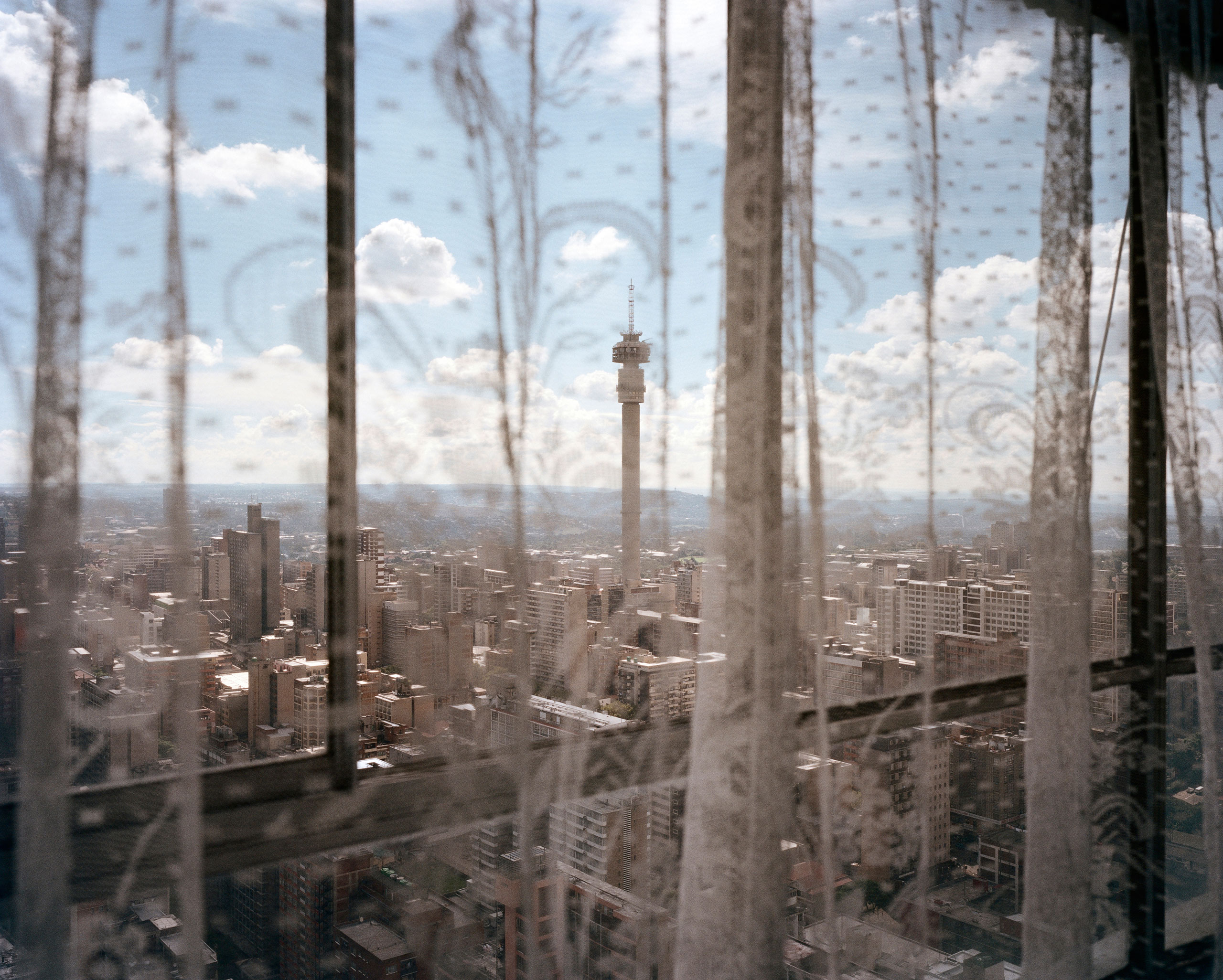 Hillbrow view, Ponte City, Johannesburg. From the series Ponte City, 2008.