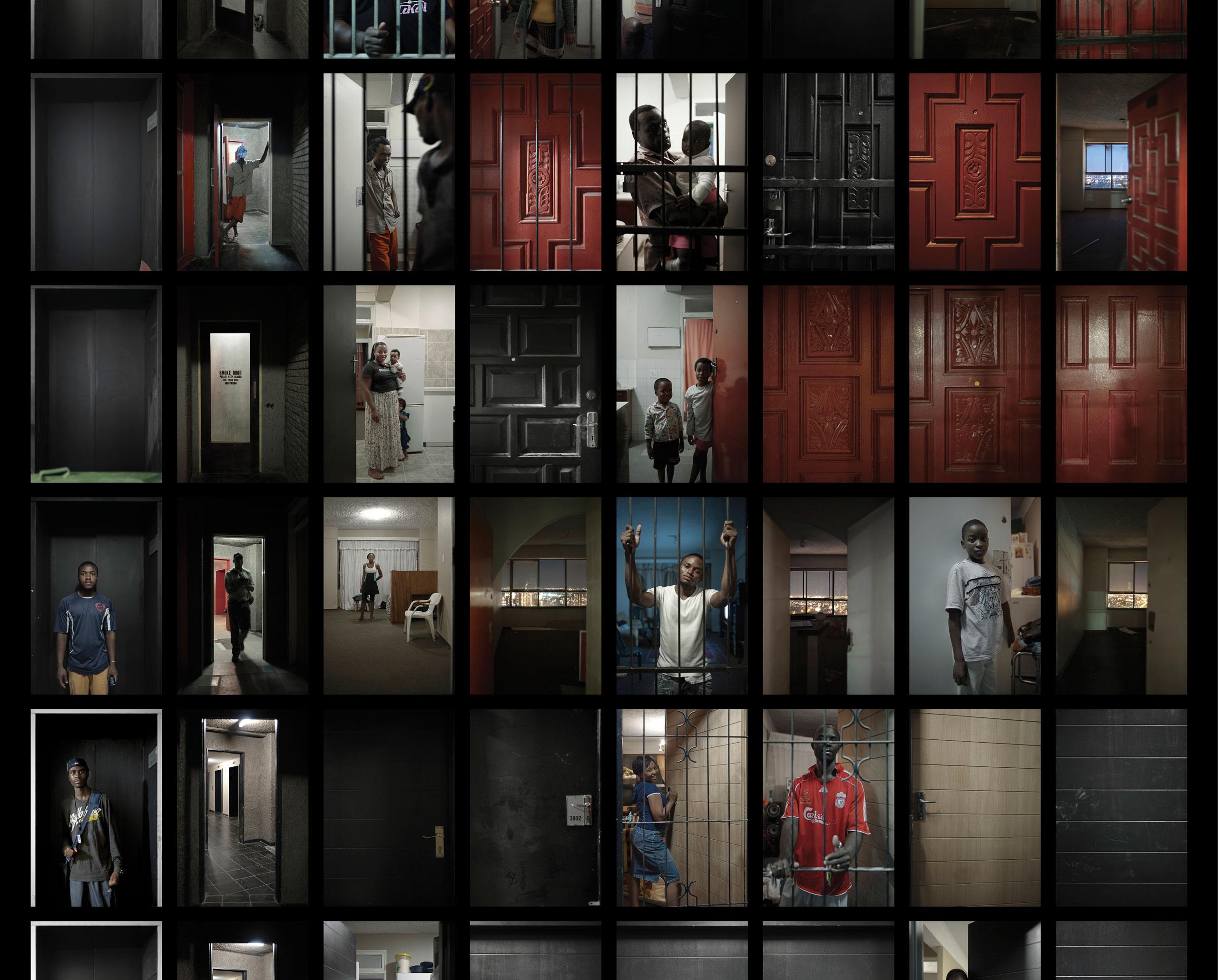 Windows, Ponte City, Johannesburg. 2008-2010.