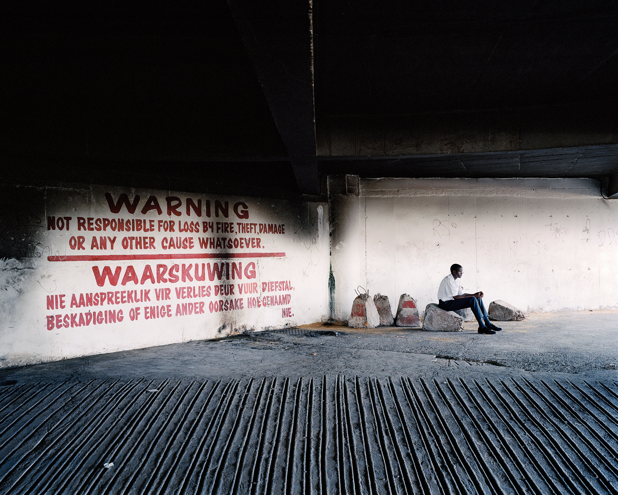 Parking entrance, Ponte City, Johannesburg. From the series Ponte City, 2008.
