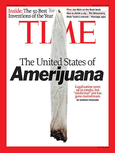 The Nov. 22, 2010, cover of TIME