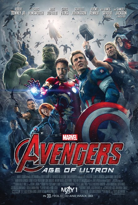 AVENGERS: AGE OF ULTRON poster.