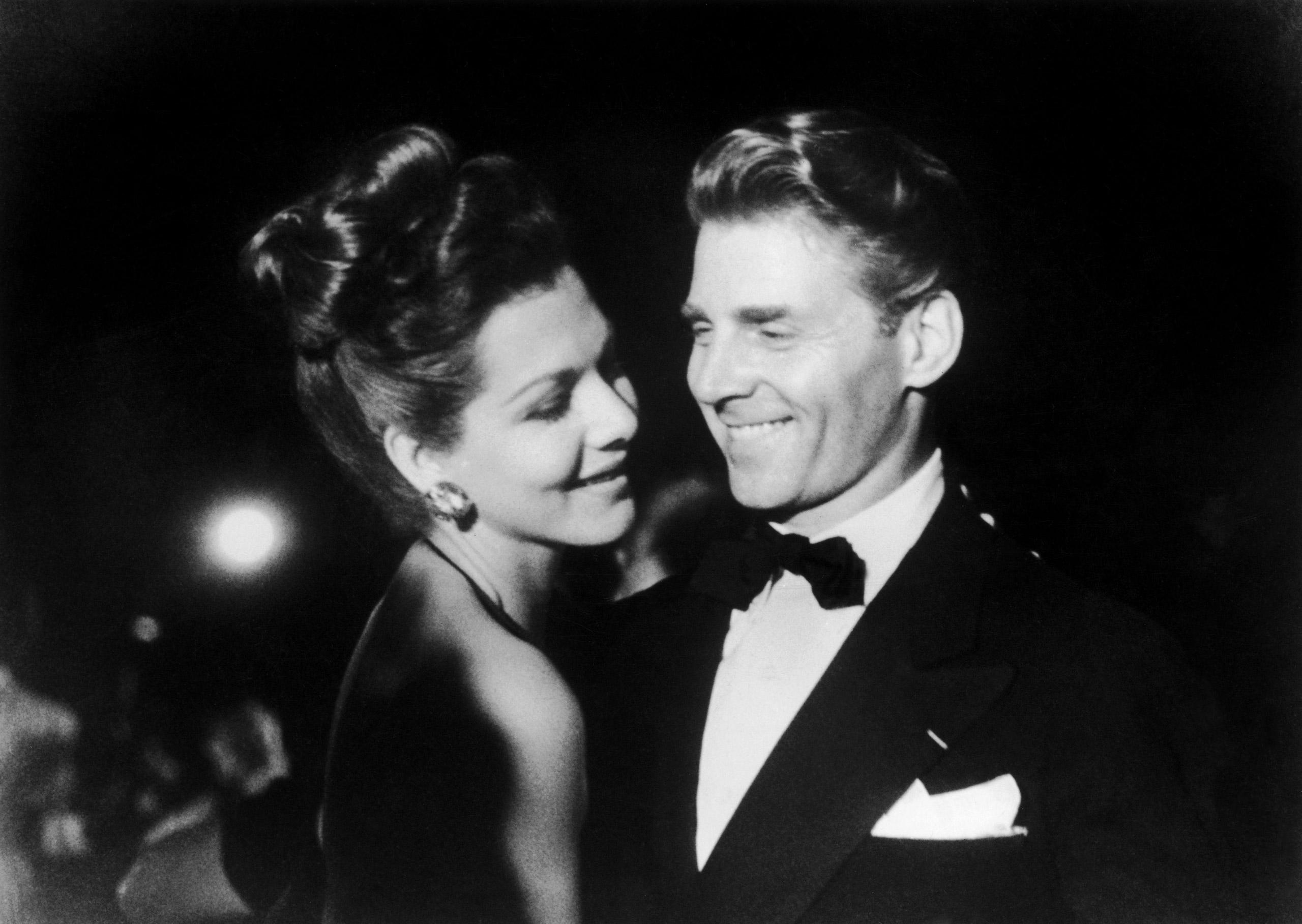 Jean-Pierre Aumont and Maria Montez at Cannes Film Festival, 1946.