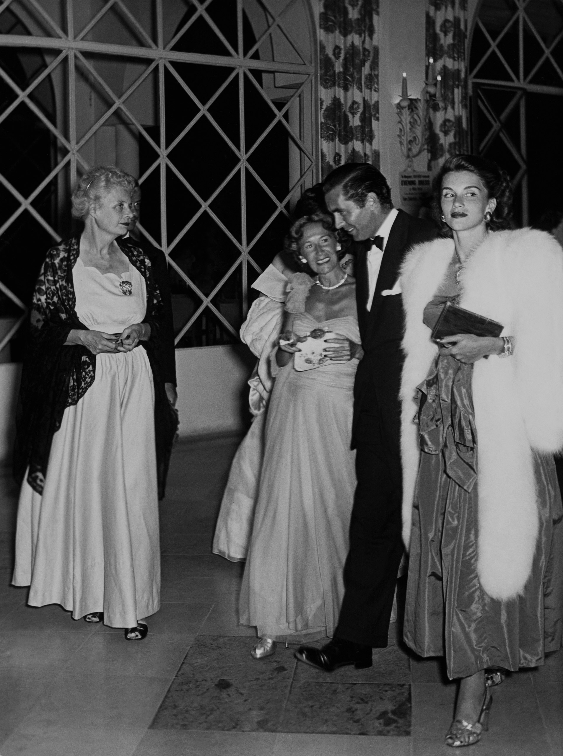 Tyrone Power in Cannes, France, 1946.