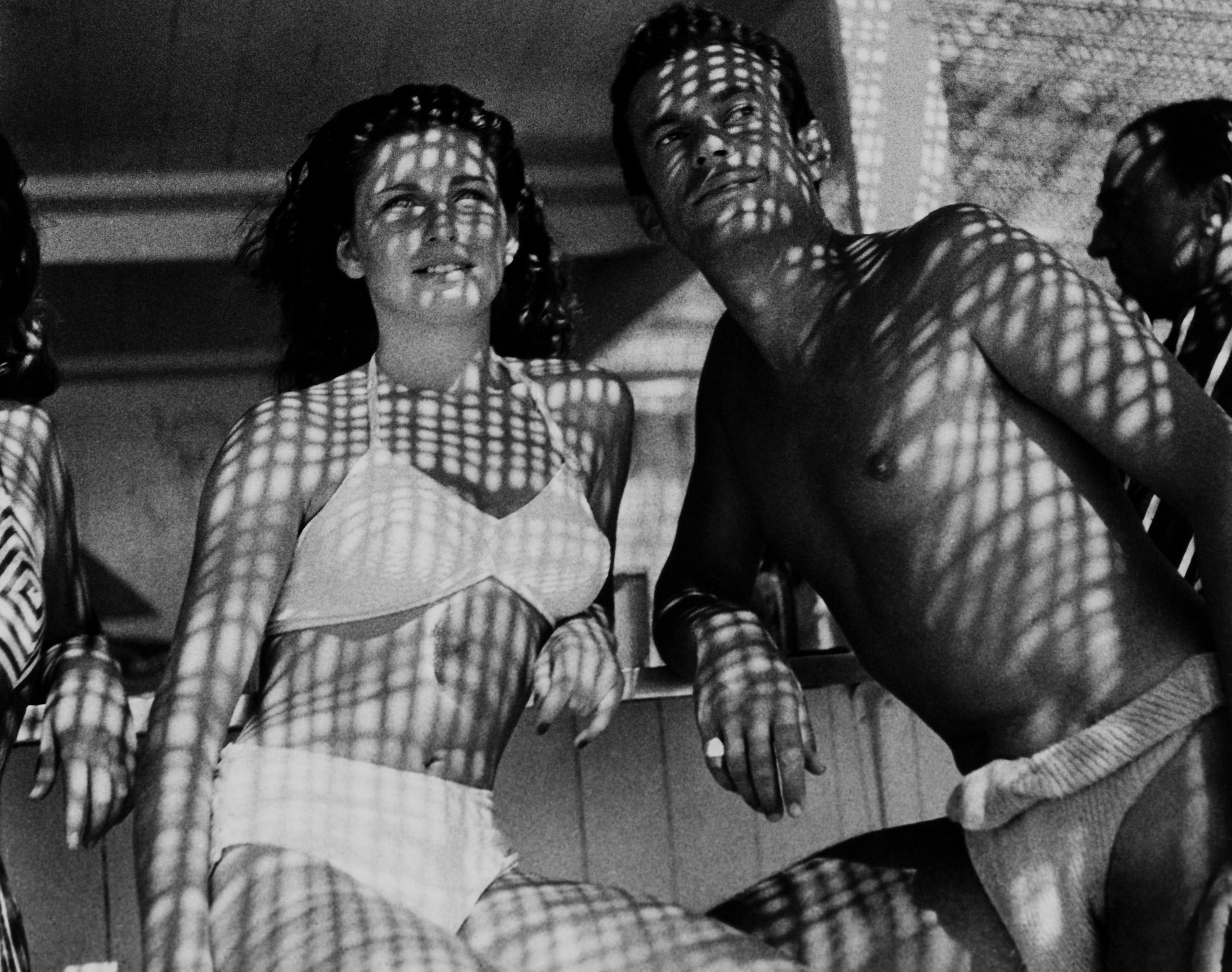 Pierre Dudan in Cannes, France in 1946.