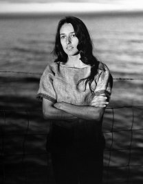 Joan Baez, who makes her home in Carmel in the Big Sur country where, standing on the shore, she evokes the same wistful intensity that goes into her rare but luminous recordings of sweet laments.