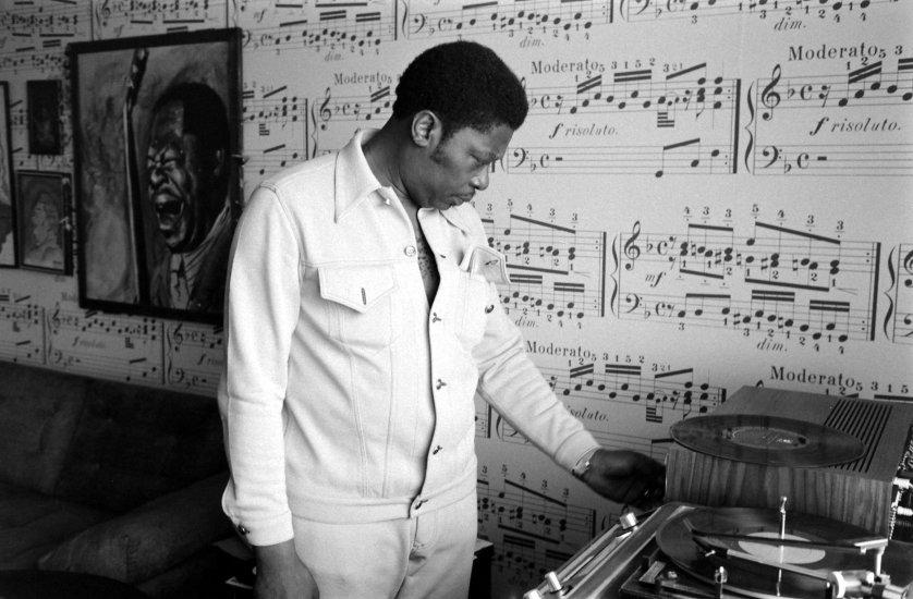 Portrait musician B.B. King in 1972.