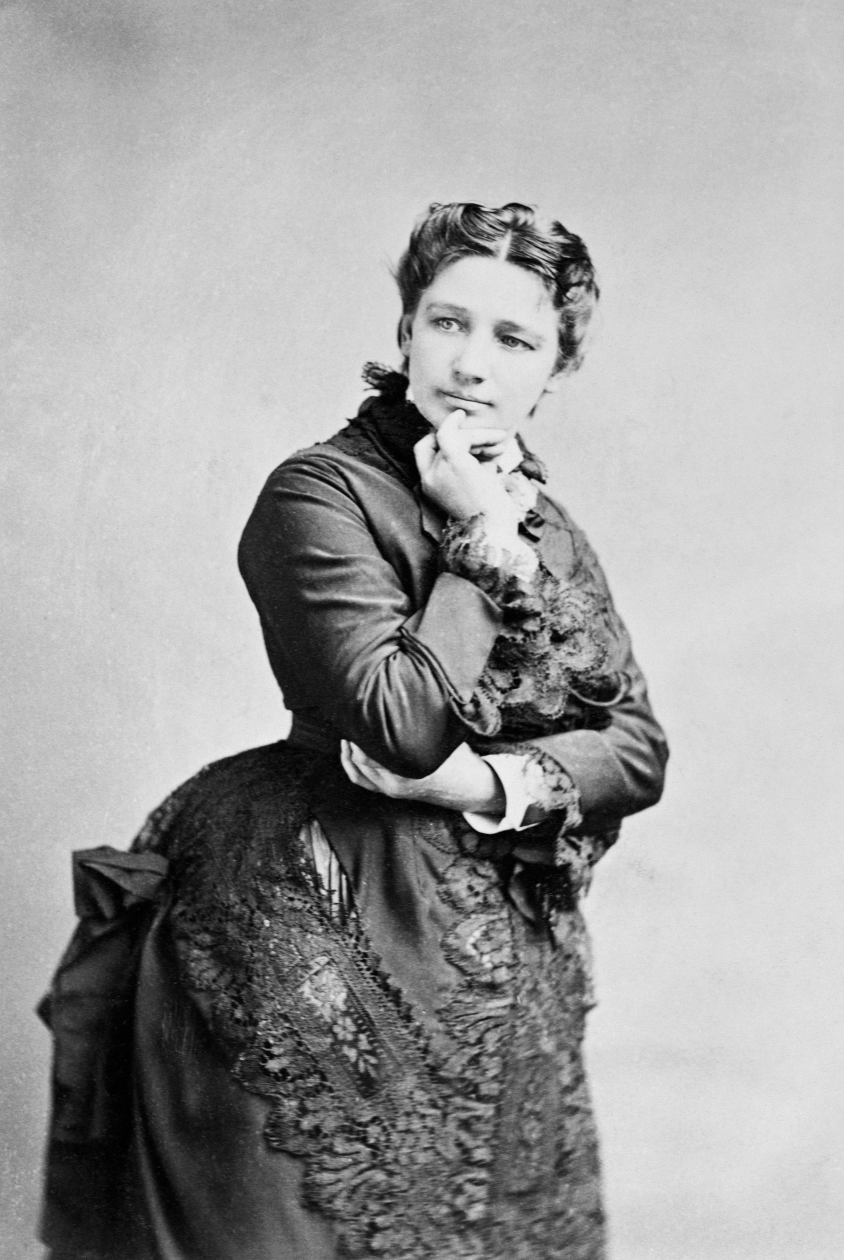 Victoria Claflin Woodhull (1838-1927), pictured circa 1872.Woodhull ran against Ulysses S. Grant in the 1872 presidential election, as the Equal Rights Party candidate.