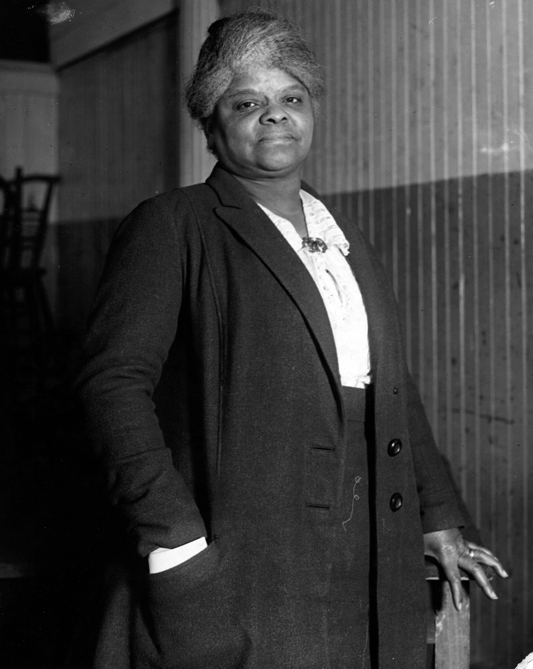 Ida B. Wells (1862-1931), pictured in 1920.In 1913, Wells founded a suffrage organization specifically for black women and worked to integrate the women's-rights movement.