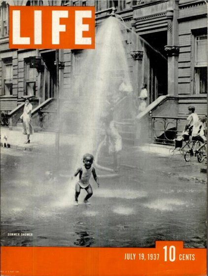 July 19, 1937 LIFE Magazine cover (photo by Fenno Jacobs).