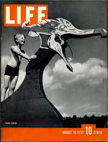 August 16, 1937 LIFE Magazine cover (photo by George Karger).
