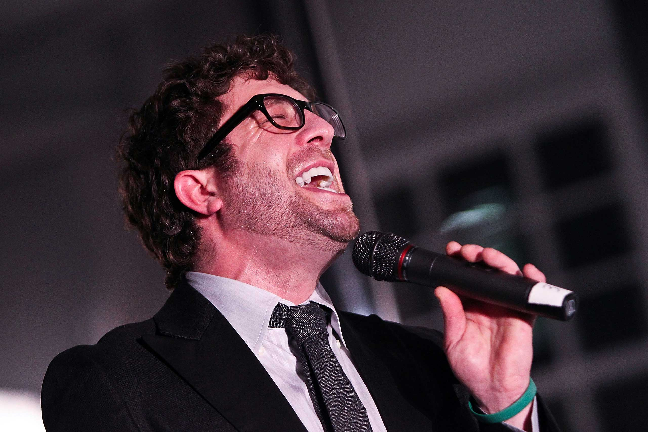 <b>Elliott Yamin</b>, who came in 3rd in season 5, performs at the Malaria No More Reception With American Idols To Celebrate Recent Progress In The Fight Against Malaria in Washington on March 7, 2012.