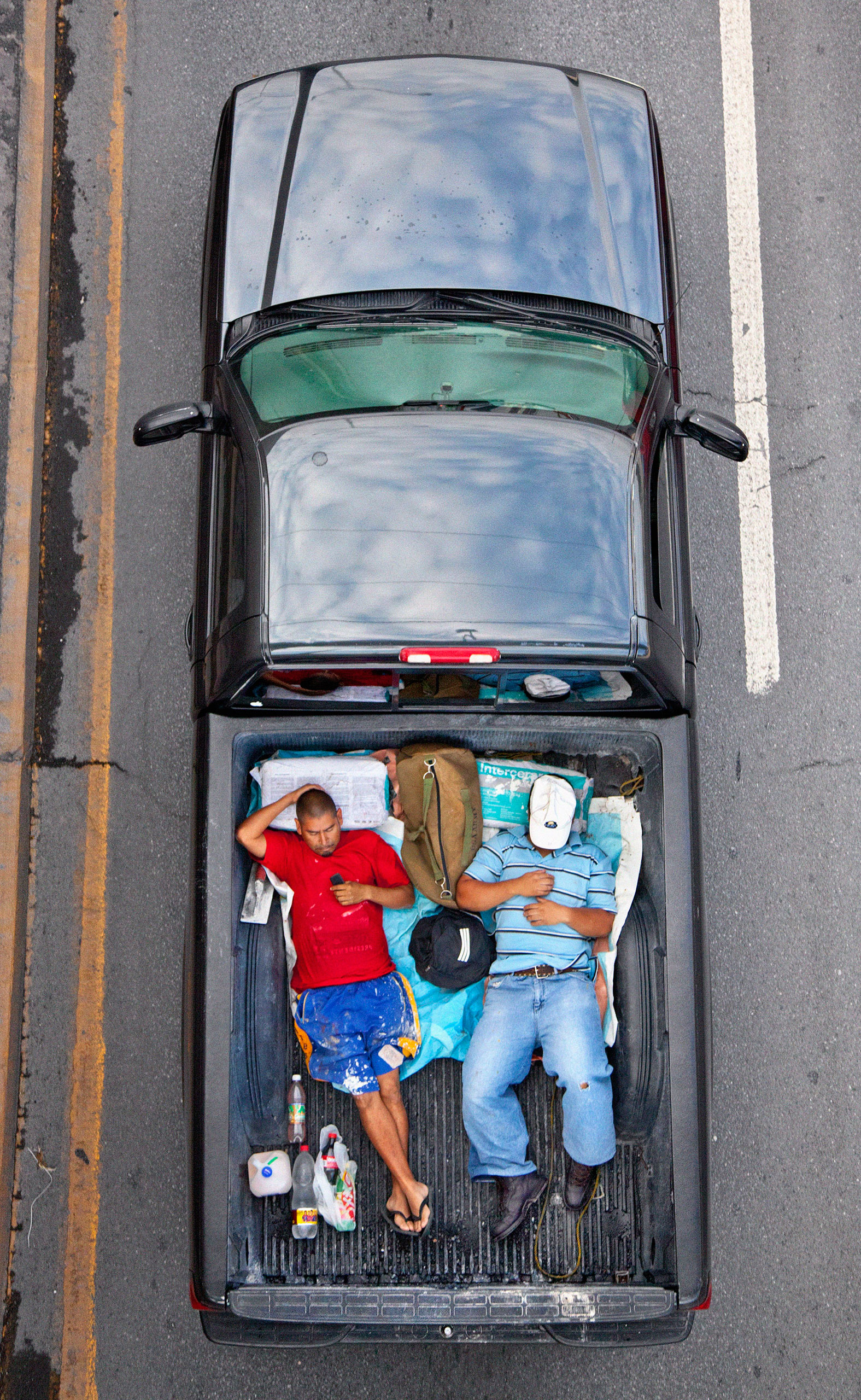 From the series Carpoolers