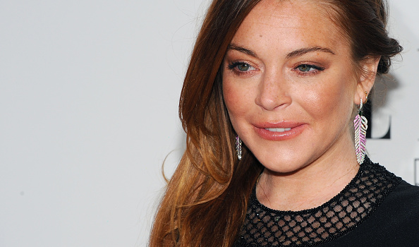 Lindsay Lohan attends the Elle Style Awards at Sky Garden in London on Feb. 24, 2015