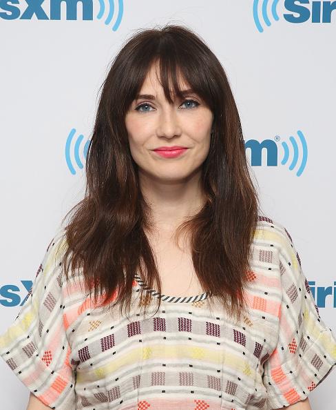Carice Van Houten visits at SiriusXM Studios in New York City on April 14, 2015.