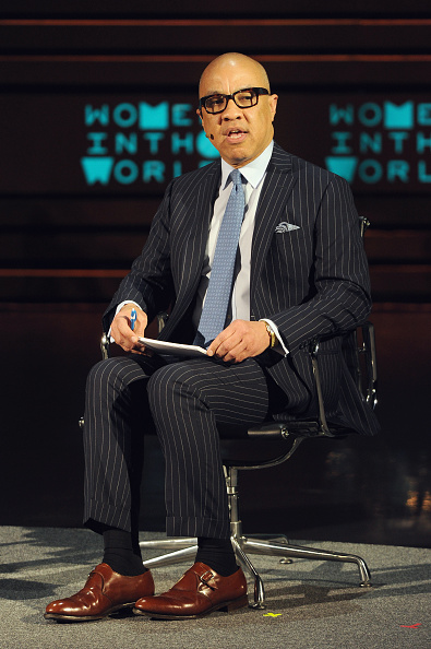 Darren Walker during the Women In The World Summit in New York City on April 24, 2015.