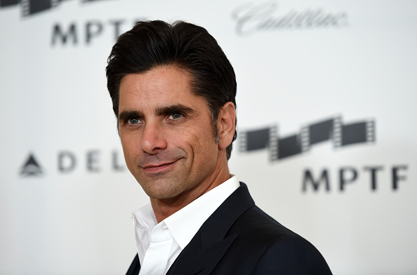 John Stamos arrives at the fourth annual Reel Stories, Real Lives event benefiting the Motion Picture & Television Fund at Milk Studios in Hollywood on April 25, 2015