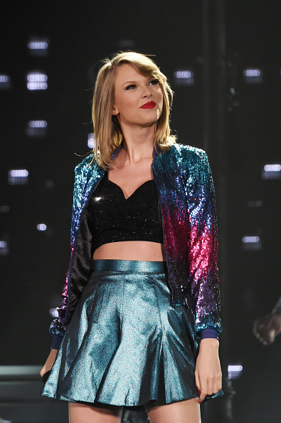 Taylor Swift performs during The 1989 World Tour in Tokyo, Japan on May 6, 2015.
