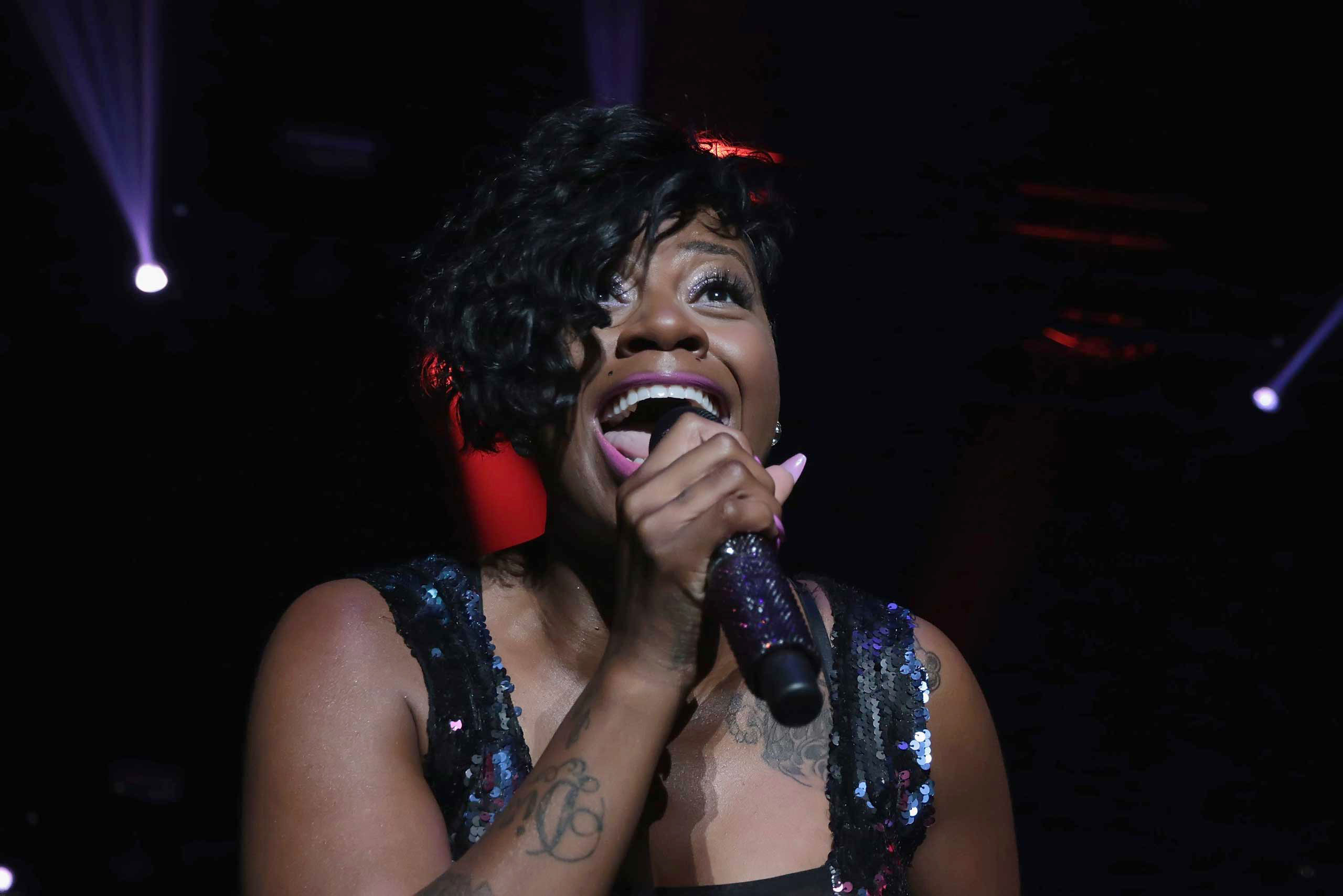 <b>Fantasia</b>, winner of season 3, performs at the 7th Annual Music Festival at Boardwalk Hall Arena in Atlantic City, N.J. on May 9, 2015.
