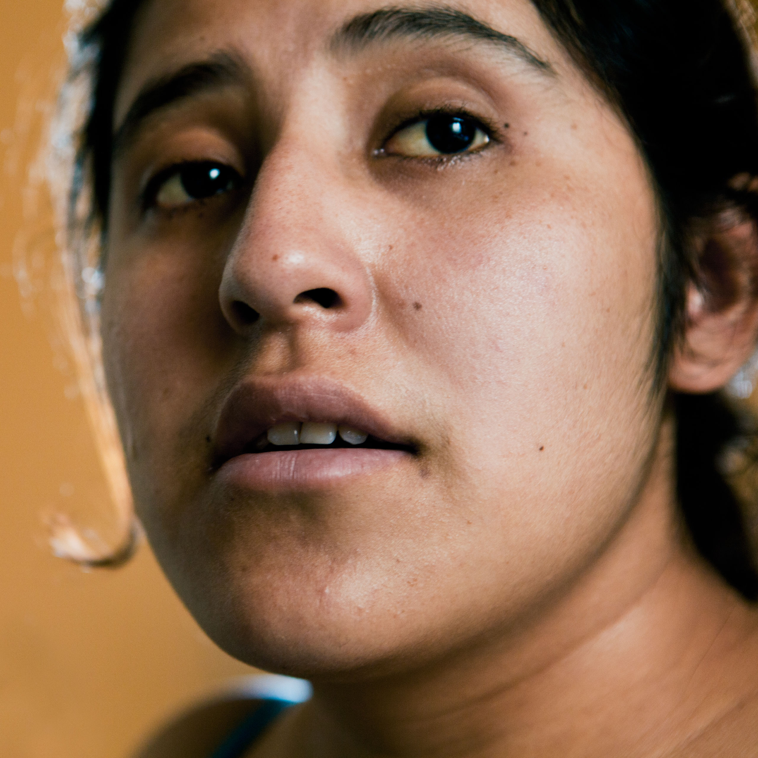 Juanita Monter, 22, in her home in Queens, New York in March, 2012. Originally from Zacualpan, in the state of Veracruz, Mexico, Monter has been in the U.S. for four years.