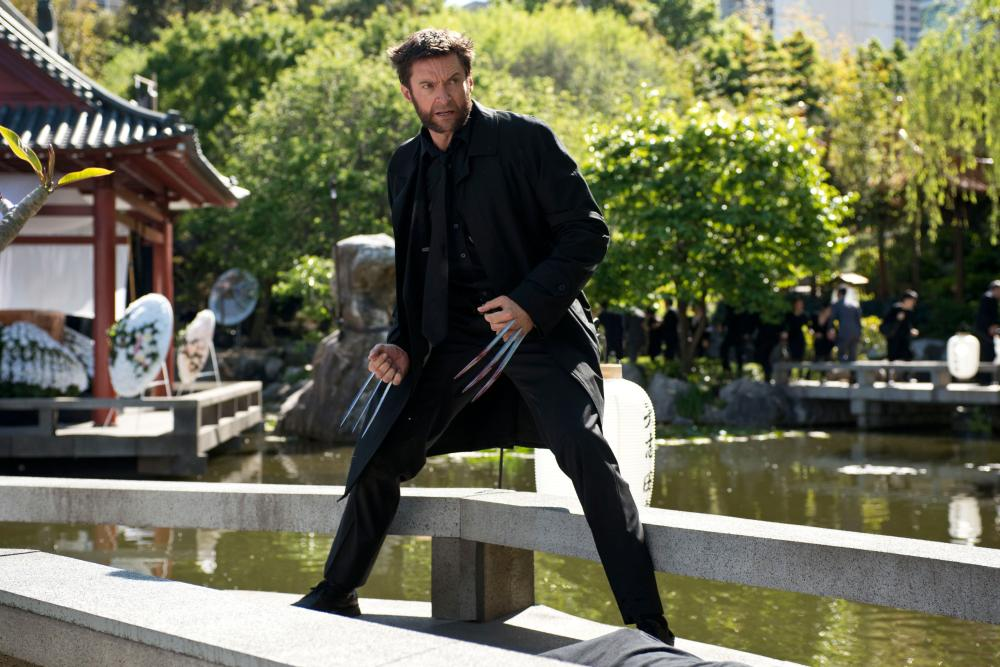 Hugh Jackman as the Wolverine in  THE WOLVERINE.