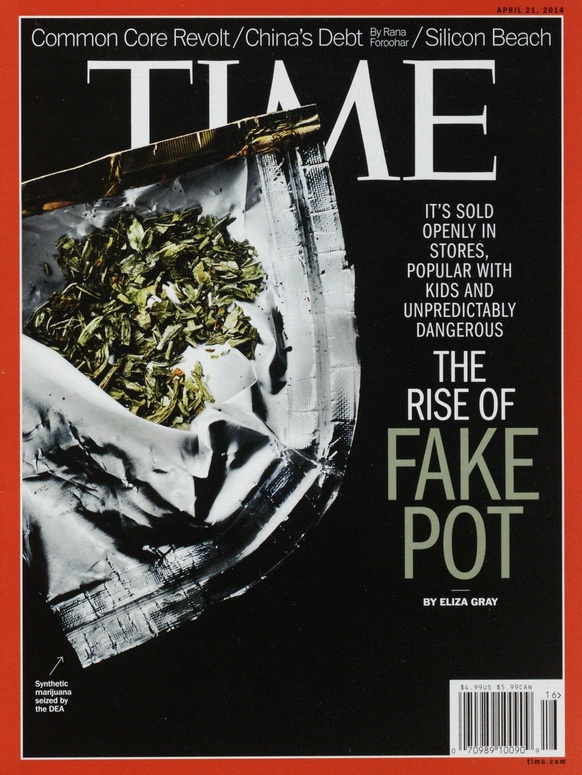 The April 21, 2014, cover of TIME