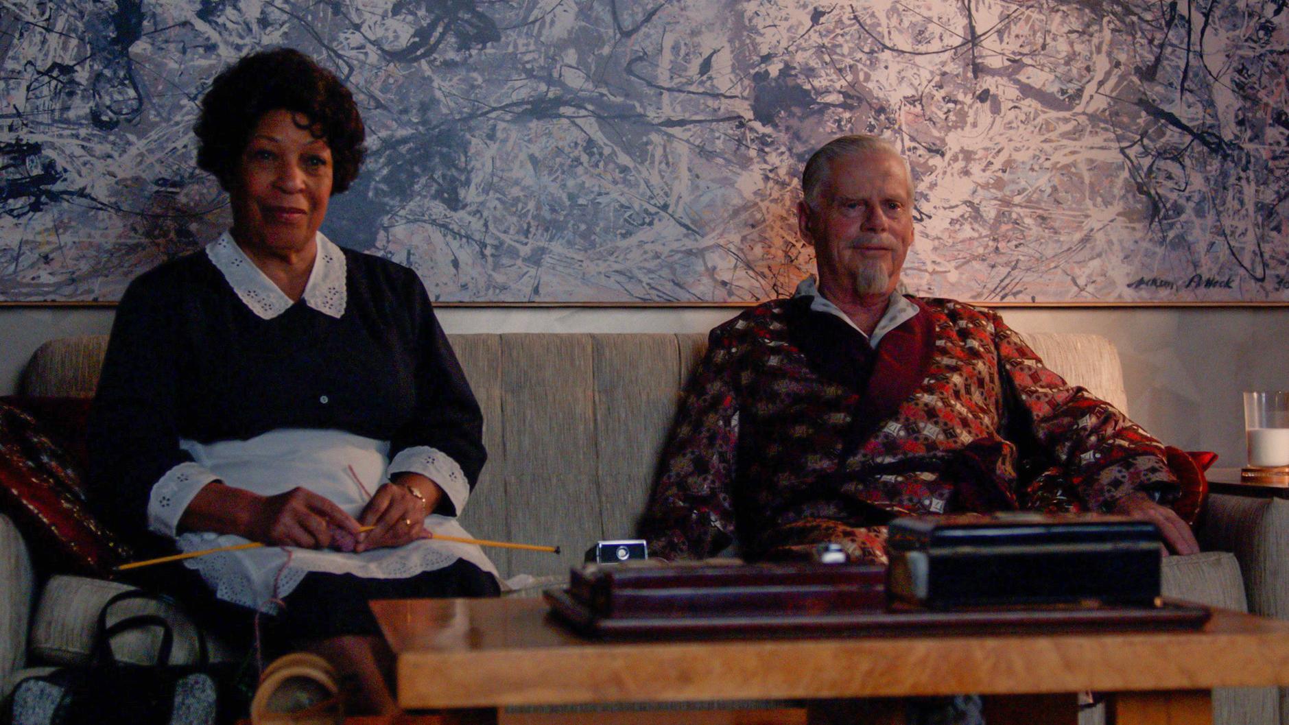 Robert Morse as Bertram Cooper - Mad Men _ Season 7, Episode 7 - Photo Credit: Courtesy of AMC