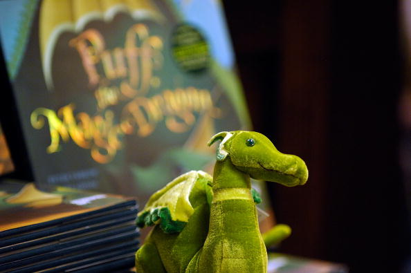 Puff the Magic Dragon children's book is seen here at Barnes & Noble, 86th & Lexington on July 1, 2009 in New York City.