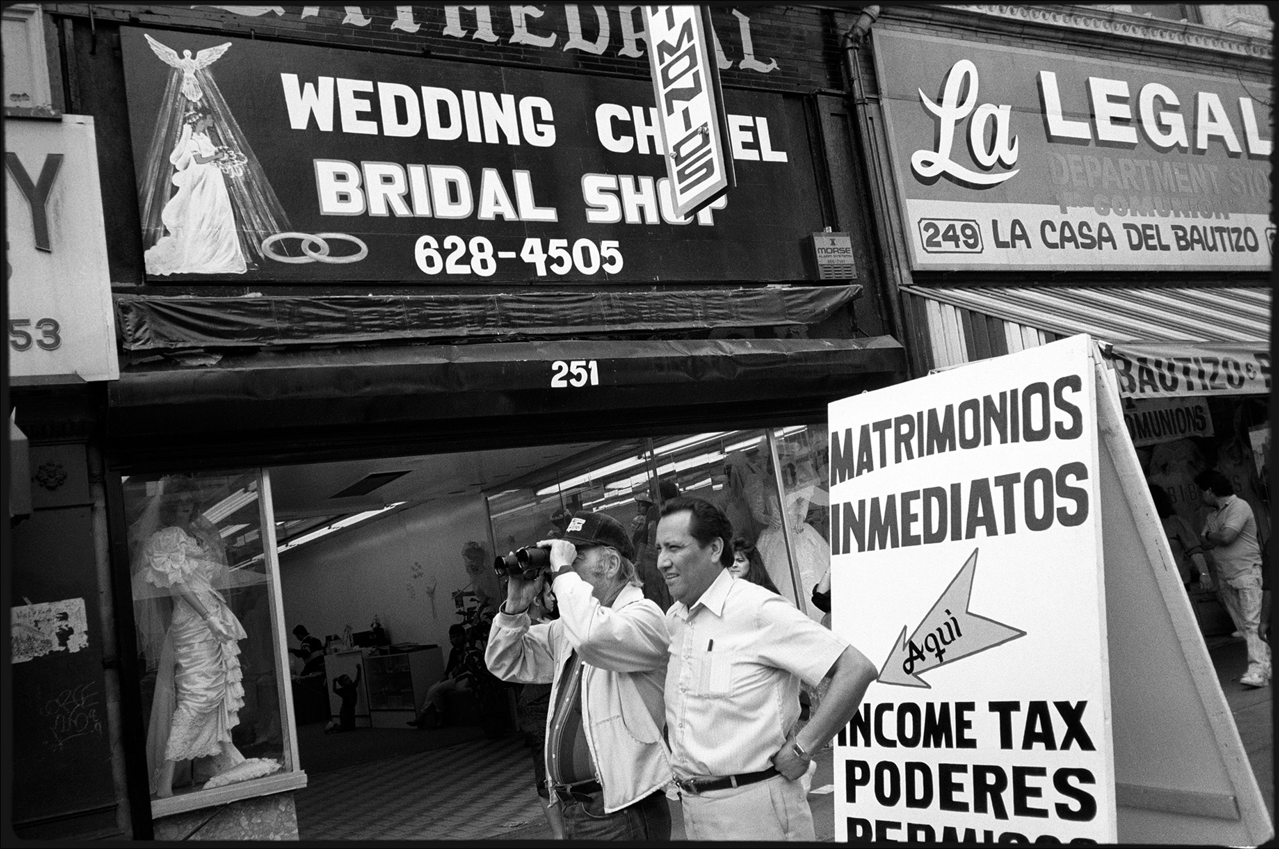 Immediate Weddings, Los Angeles, 1990