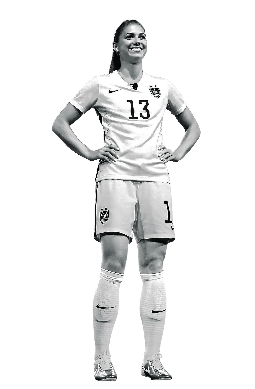 United States Women's Soccer Team member Alex Morgan.