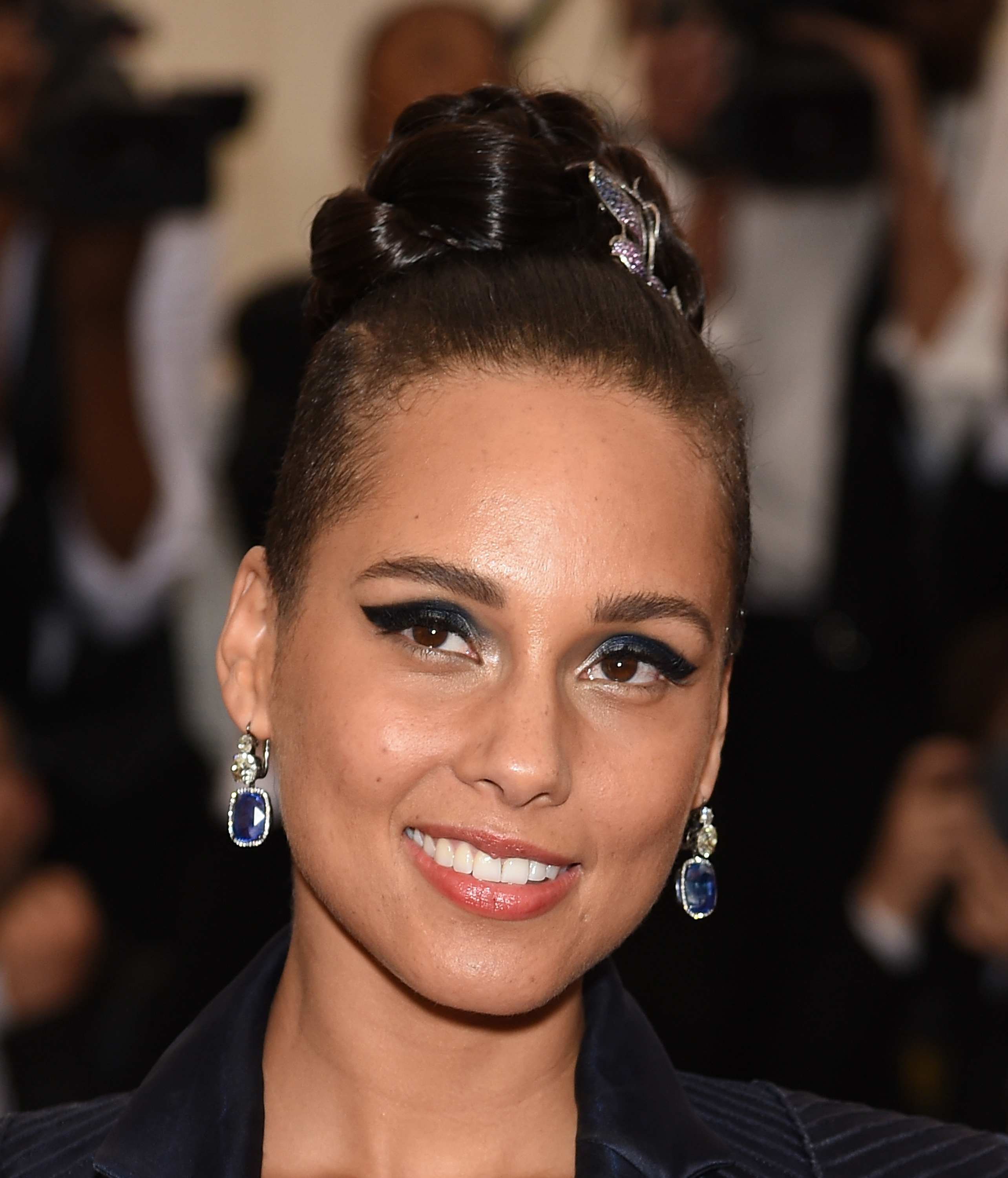 Alicia Keys attends the  China: Through The Looking Glass  Costume Institute Benefit Gala at the Metropolitan Museum of Art on May 4, 2015 in New York City.