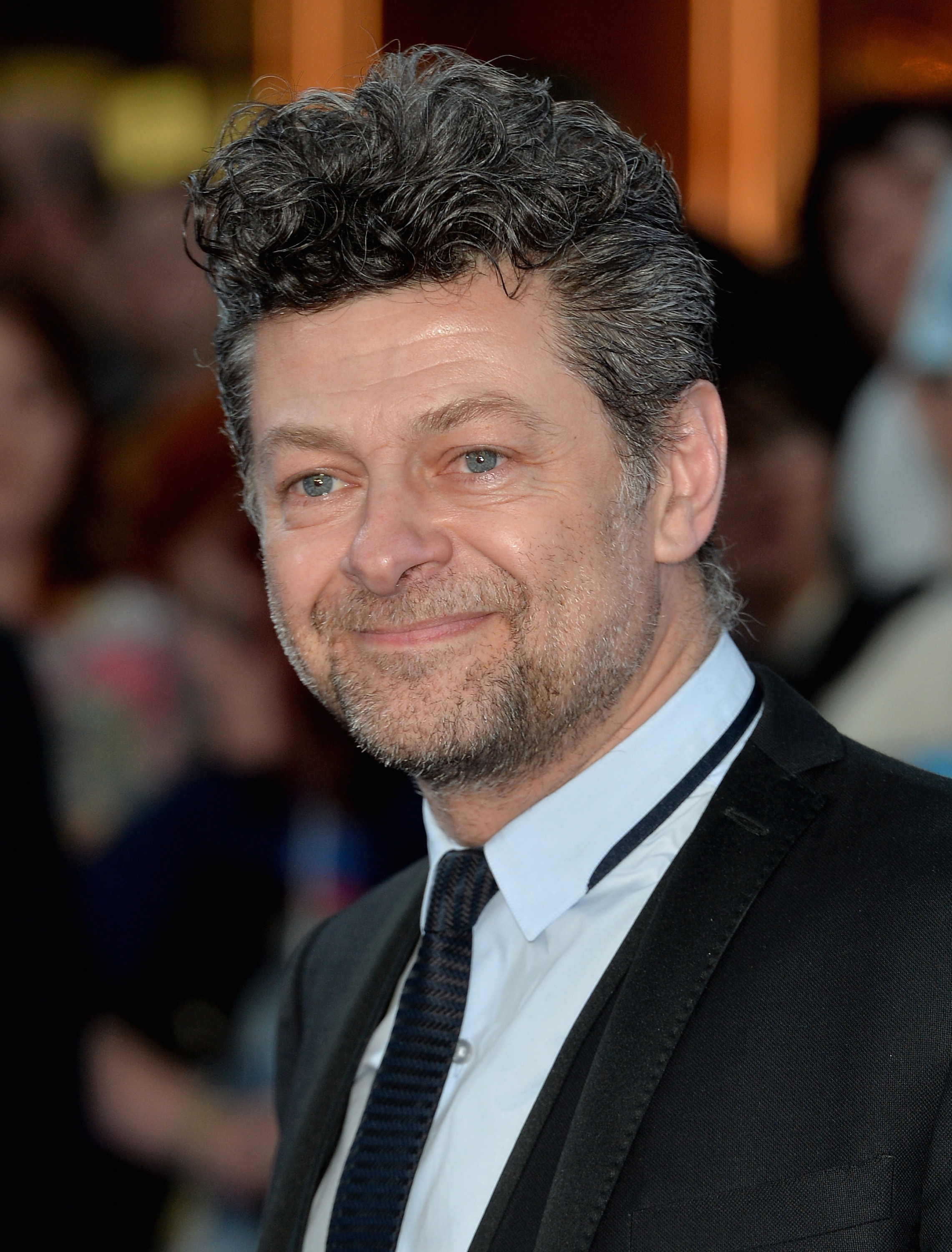 Andy Serkis attends  The Avengers: Age Of Ultron  European premiere at Westfield London on April 21, 2015 in London.