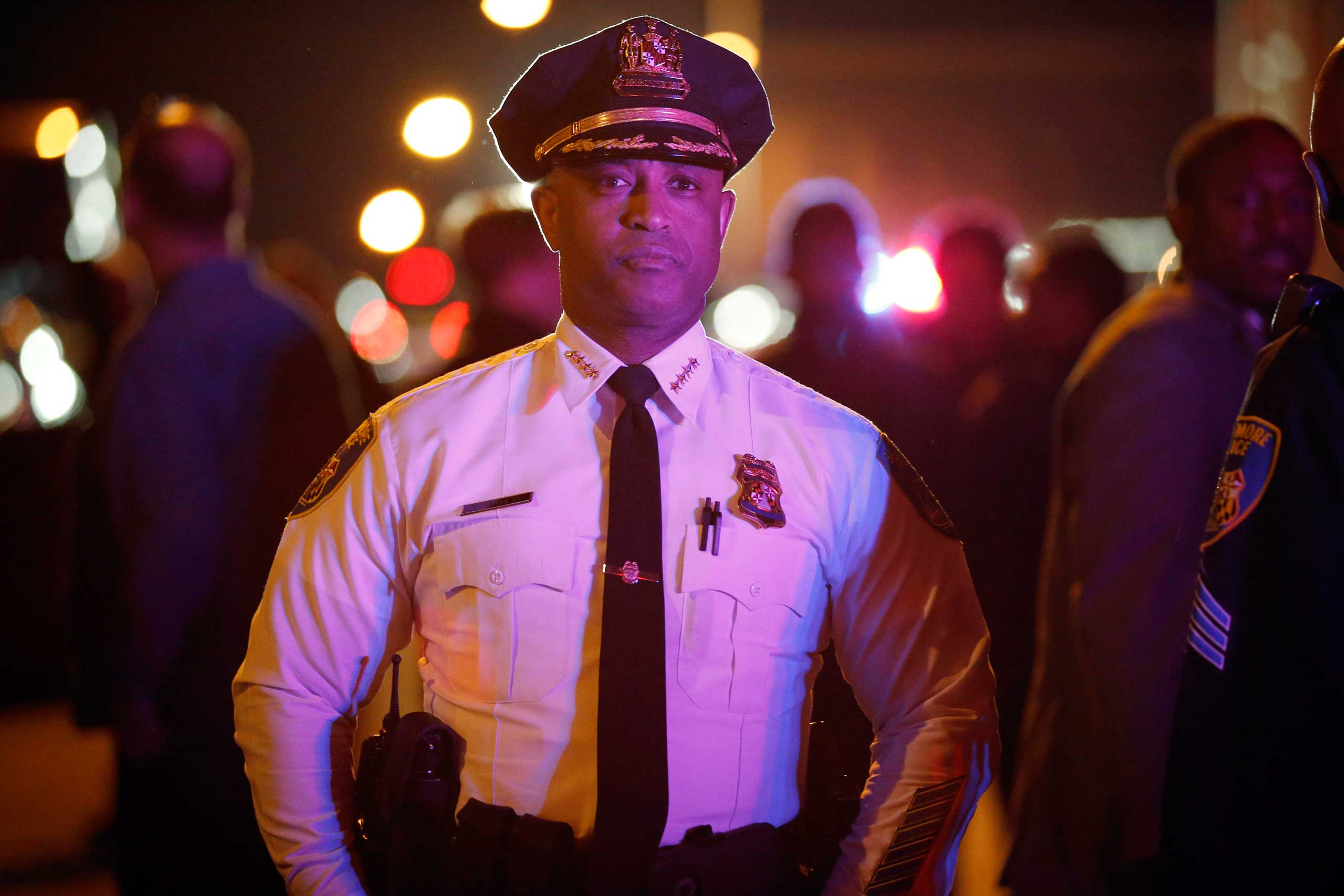 Baltimore Police Department Commissioner Anthony Batts.