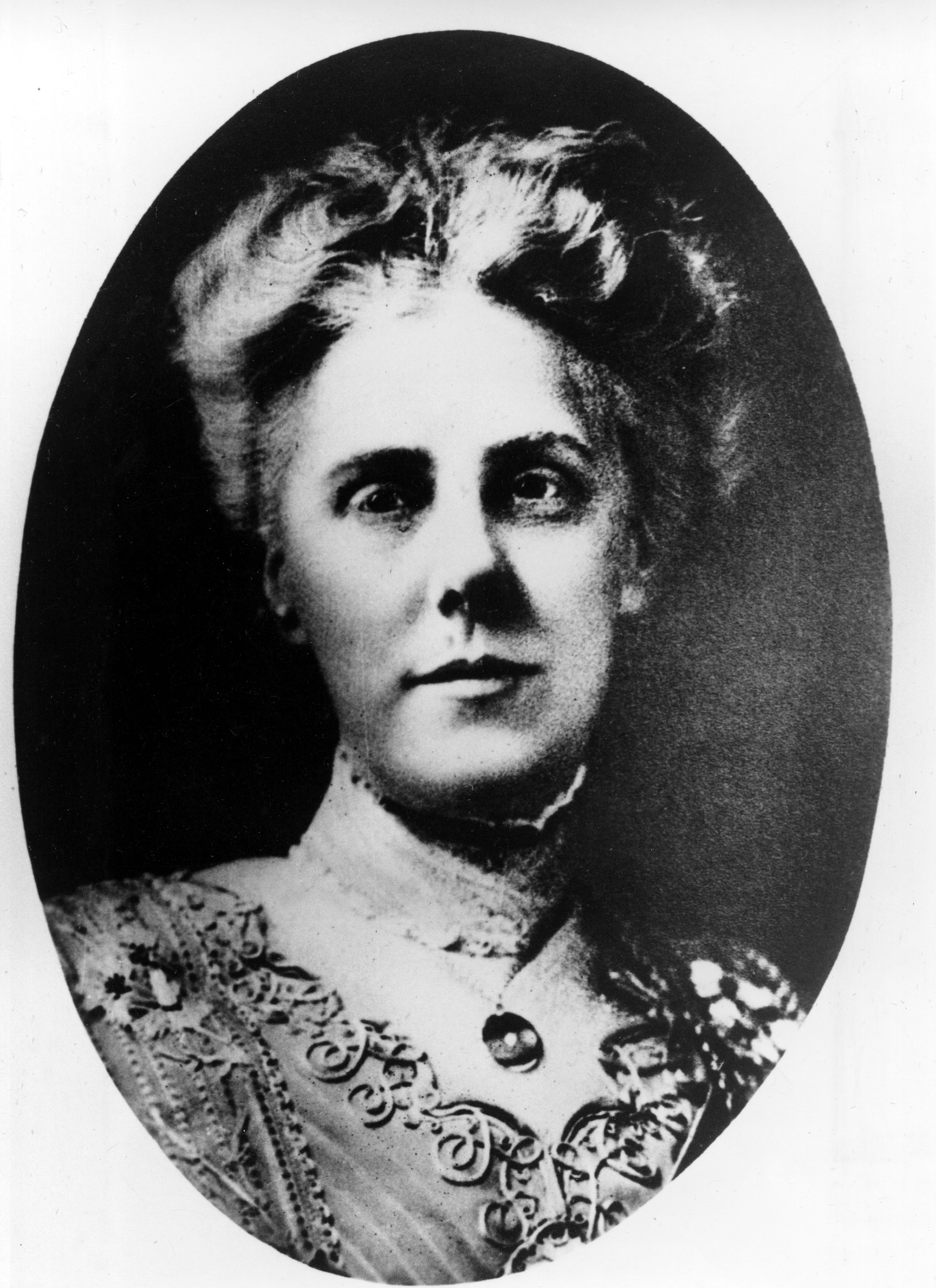 Undated picture of Anna Jarvis.