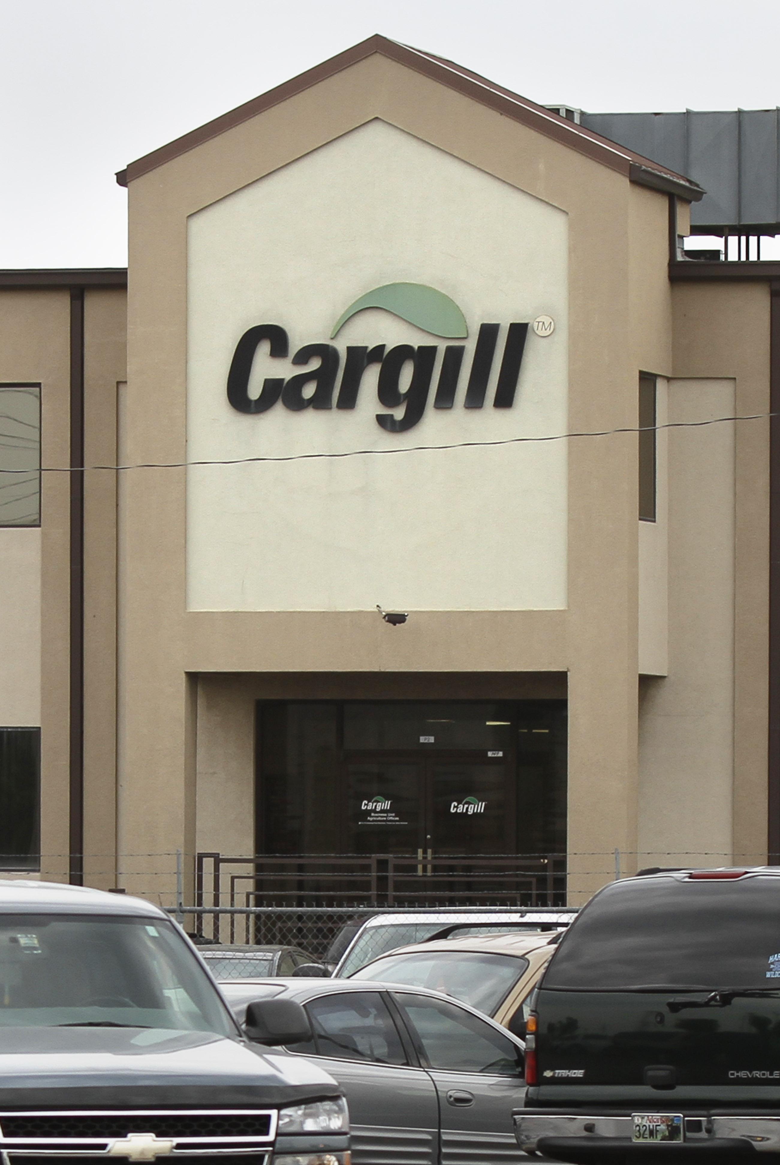 A Cargill plant in Springdale, Ark.